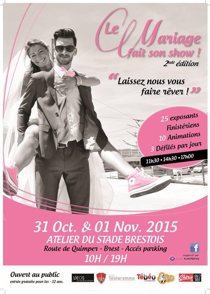 Le Mariage fait son show Brest 2015
