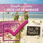 check-list-mariage