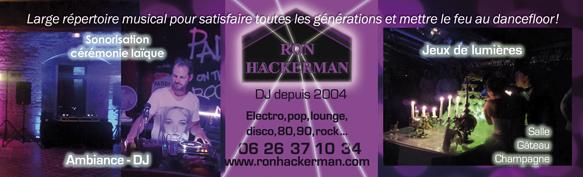 DJ animateur Mariage Ron Hackerman